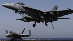 Premières frappes américaines contre des positions de l'Etat islamique en