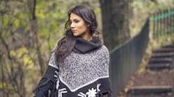 Stylish Ponchos You'll Ditch Your Coats
