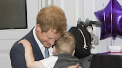 Prince Harry Hugged This Sick Boy And Became King Of Our