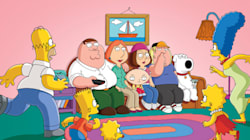 Une blague du combo «Simpsons/Family Guy»