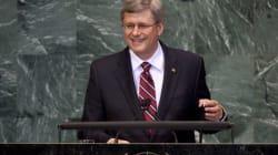 Harper Using UN For His Own Gain, Critics