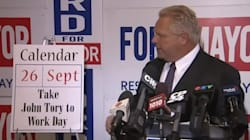 Doug Ford Skips Mayoral Debates, Does This