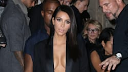 Kim Kardashian Lets It All Hang