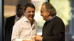La ritrovata coppia Renzi e Marchionne: di nuovo uniti, dopo il