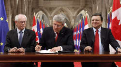 Harper, EU Leaders: It's A Done