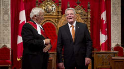 Le président allemand heureux que le Québec soit toujours dans le