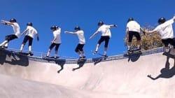 Une vidéo de skate comme vous n'en avez jamais