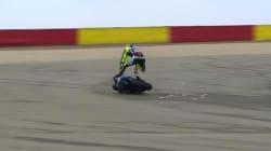 Tanta paura per Valentino Rossi (FOTO,