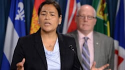 Head Of Native Women's Group Seeks Liberal