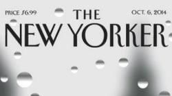 Piove sulla copertina del New