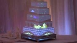 Un gâteau de mariage