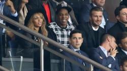Beyoncé, JayZ et David Beckham assistent à un match du Paris Saint-Germain