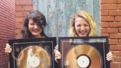 Les soeurs Boulay: disque d'or pour «Le poids des