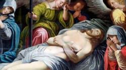 En Belgique, un Jésus genre Conchita