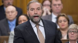 Mulcair: Let's Not 'Rush Into This