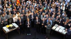 800 alcaldes catalanes cierran filas junto a Mas en torno al