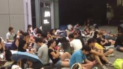 香港デモ・現地ルポ、15歳の少女が見た「真夜中の攻防」