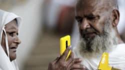Les selfies débarquent à la Mecque, au grand dam des
