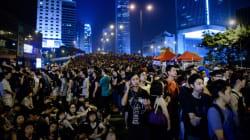 Début de division chez les manifestants à Hong