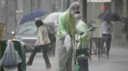 Más de dos millones de evacuados en Japón por el tifón