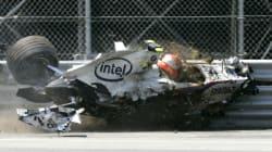 Les pires crashs en Formule