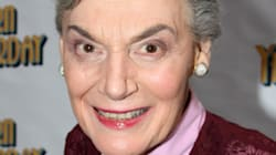 L'actrice Marian Seldes