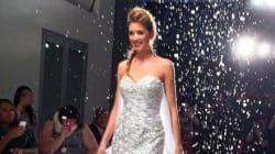 'Frozen' Wedding Dress Is A