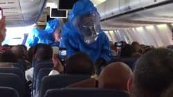 Voici pourquoi il ne faut pas faire de blague sur le virus Ebola à bord d'un