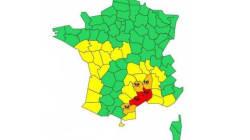 Le Gard et l'Hérault en alerte