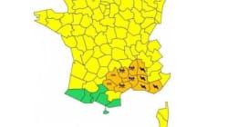 Le Gard rétrogradé en vigilance