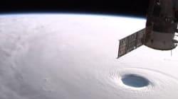 Les saisissantes images du typhon Vongfong vu de la Station Spatiale