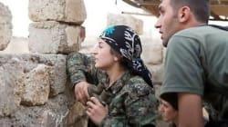 Cette femme kurde à la tête des combattants de Kobané? Pas si