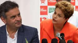 Aécio Neves e Dilma Rousseff se enfrentam em debate da Band nesta