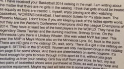 12-Year-Old Girl Schools Sports Store On Its Sexist