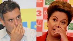 Acirradíssimo! Aécio 51% X Dilma 49%, diz