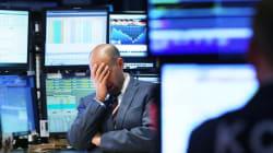 Bourse: un petit goût de crise de la