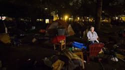 Tents Remain At Vancouver Homeless Camp After