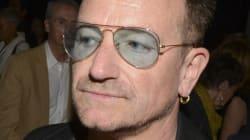 Bono souffre d'un