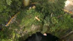 Des plongeons de 27 mètres dans des décors