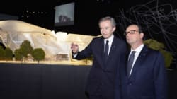 Hollande inaugure la fondation