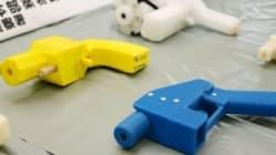 Costruiva pistole con la stampante 3D,