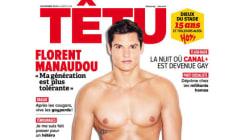 Florent Manaudou sexy en couverture de
