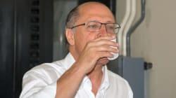 Alckmin: vete lei que diminui florestas paulistas, não nos mate de sede