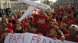 L'appello di Francesco per i lavoratori Meridiana.