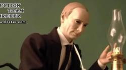 L'inquiétant automate musical de Poutine signant l'annexion de la