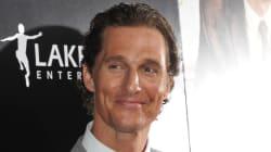 Matthew McConaughey reçoit le 28e American Cinematheque Award