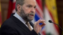 Mulcair: An Attack Intended To Make Us Fearful Has