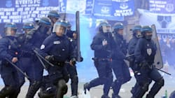 Incidents entre supporteurs et police avant