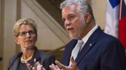 Wynne, Couillard Slam Harper Over Greenhouse Gas Emission