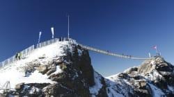 Le premier pont au monde reliant deux